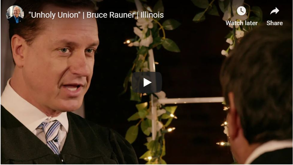 Governor Launches Hilarious Campaign … 'Illinois Is F**ked'