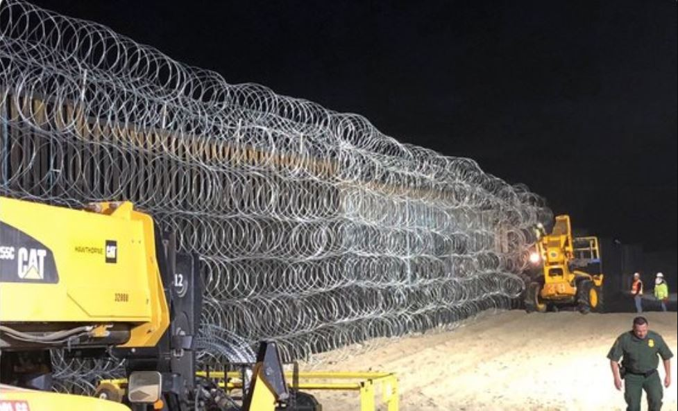 YOWZA … Check Out The Border Fence NOW!