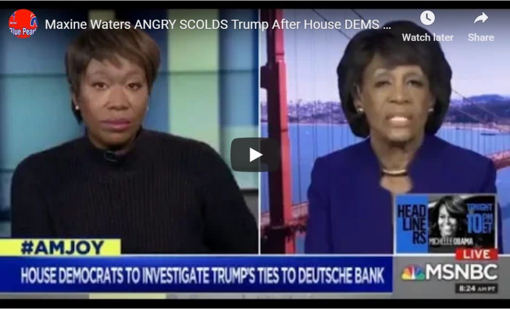 Maxine Waters Goes Off … 'Republicans Are Scared of A Strong Black Woman Like Me'