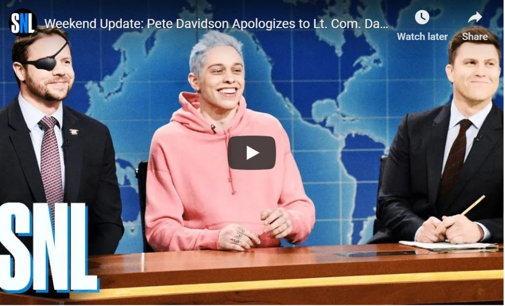 Awesome: Dan Crenshaw Appearance On SNL…
