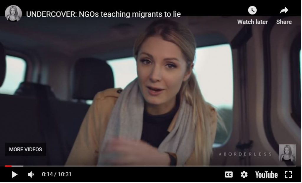 Lauren Southern Undercover: NGOs Teach Muslim Invaders To Lie About Being Christian…