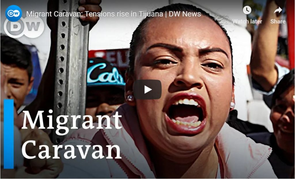 VIDEO – Hundreds of Mexicans Protest Illegals In Tijuana – 'Trump Is Right, This Is An Invasion!'…