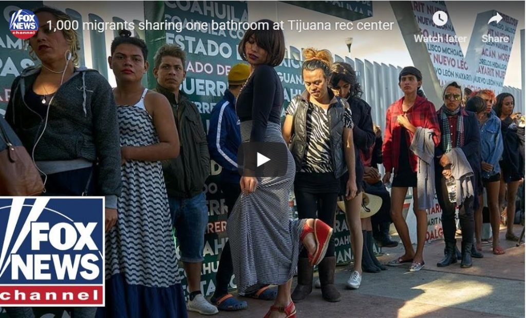 1,000 Foreign Invaders Sharing One Bathroom In Tijuana – William La Jeunesse Reports