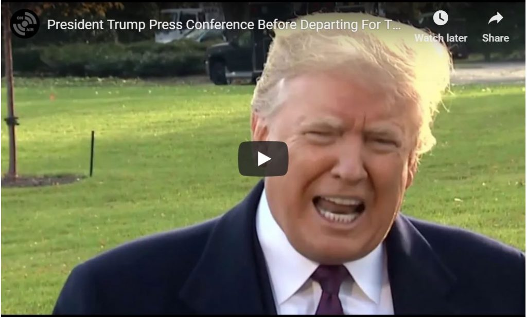 Trump Holds Court: This Is How You Handle The Liberal Press…