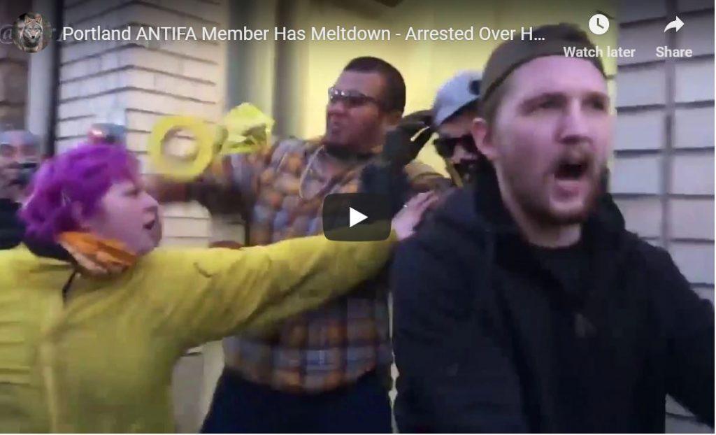 ANTIFA STRIKES PORTLAND … HILARIOUS VIDEO