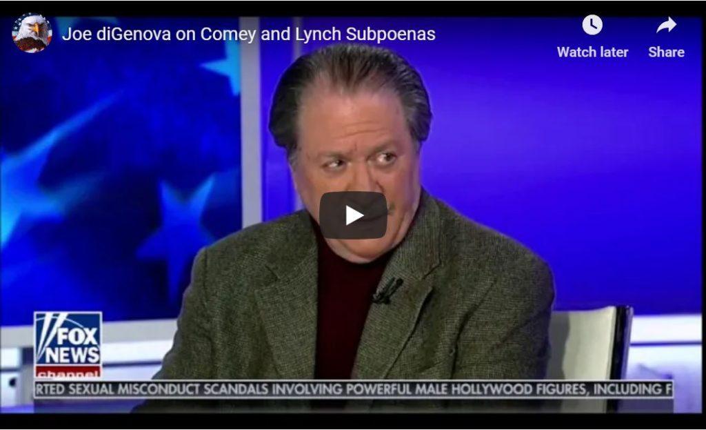 Joe DiGenova 'Absolutely Furious'…