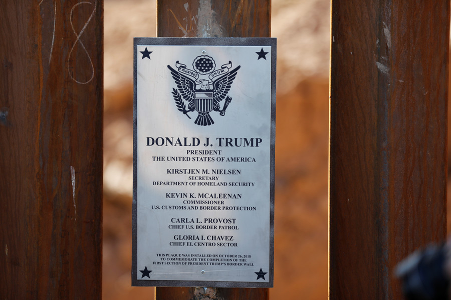 Trump starts building 6 miles of border wall in Texas