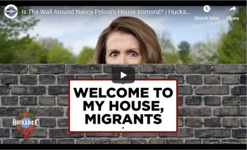 Is The Wall Around Pelosi's House Immoral?