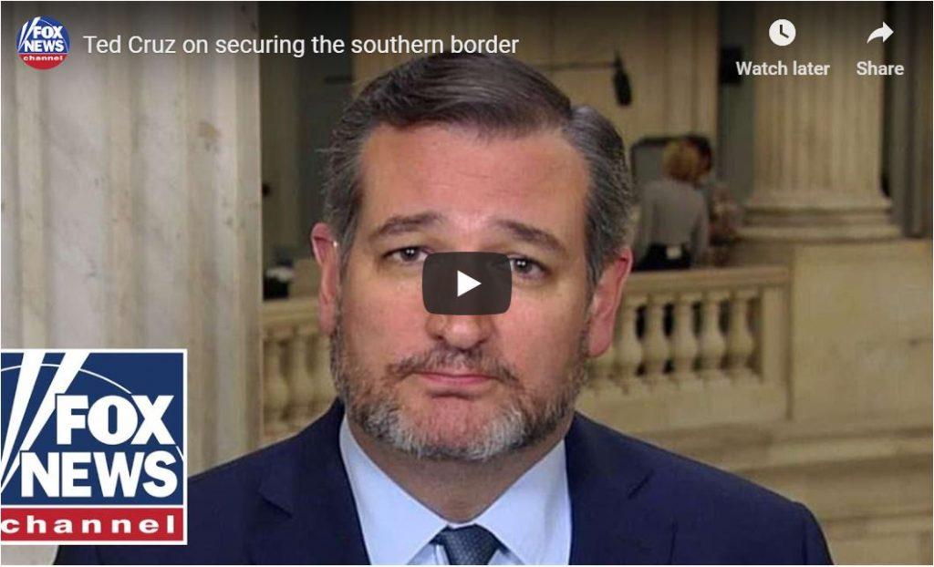 Ted Cruz Wants $25B For A Big Beautiful Wall…