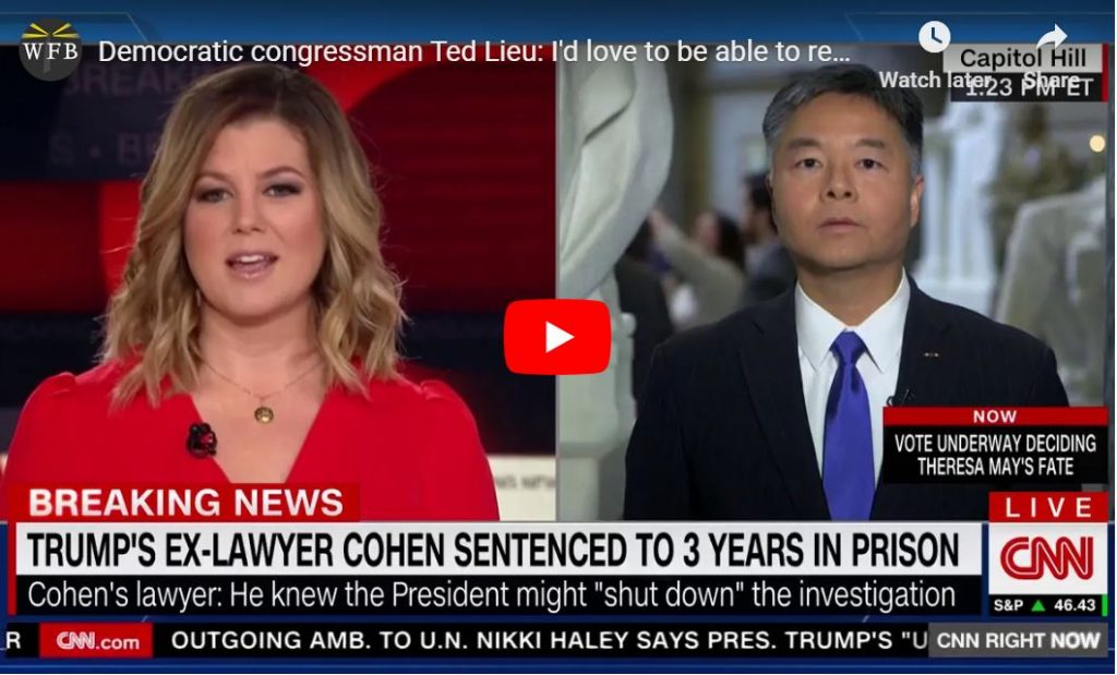 Say What, Ted Lieu?