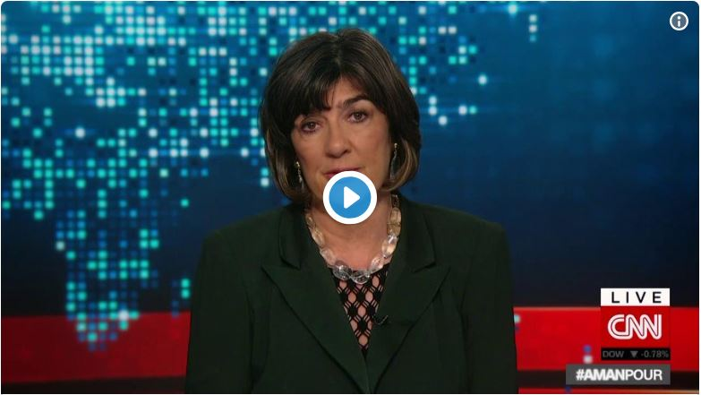 Christiane Amanpour Melodrama – 'We Journalists Are The Bravest Citizens On Earth'…