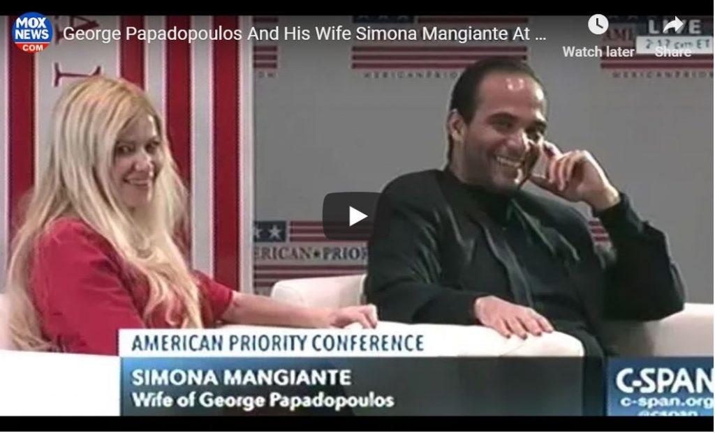Cernovich Interviews Papadopoulos Live On C-SPAN