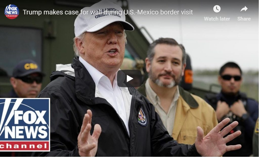 BOOM: Trump Speaks At The Border With Ted Cruz..