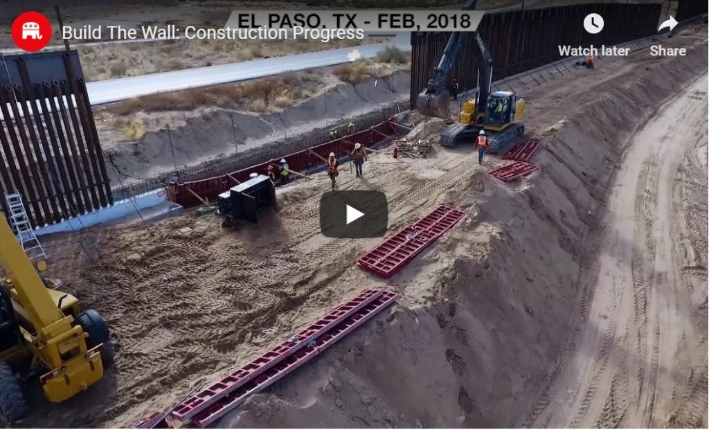 Wall Construction … See The Progress For Yourself