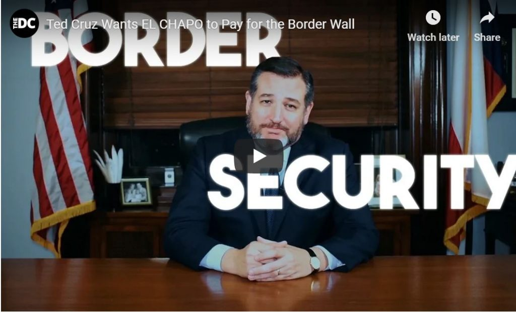 El Chapo Act For Wall Funding — Step By Step…