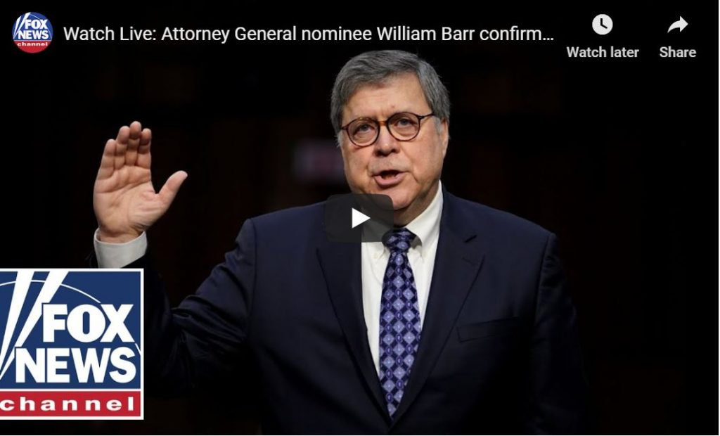 Lindsey Asks Bill Barr A Very Interesting Question…