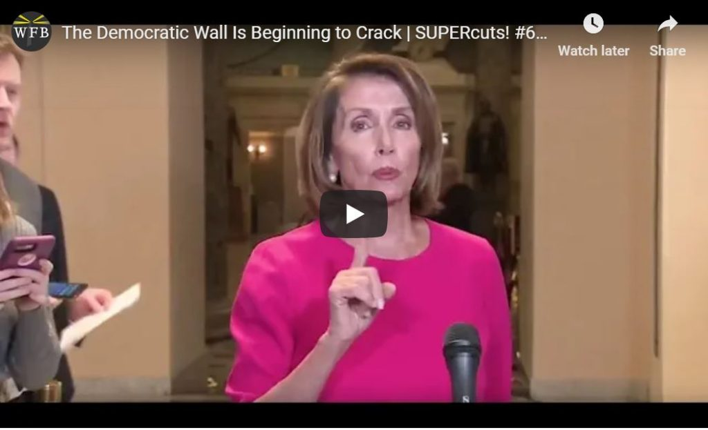 The Democrat Wall Is Beginning To Crack…