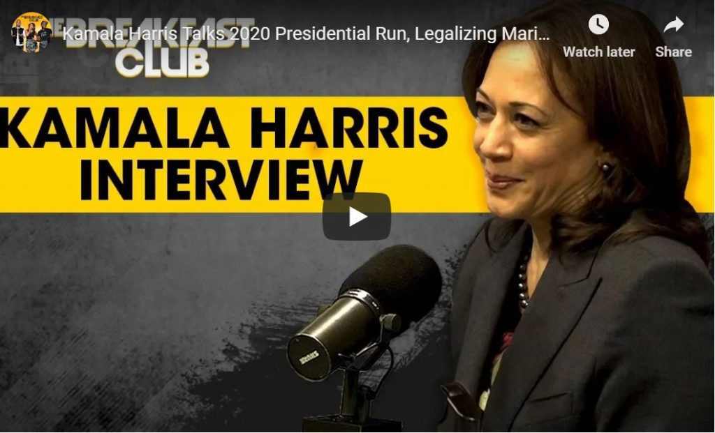 Kamala Harris – I Support Reparations…