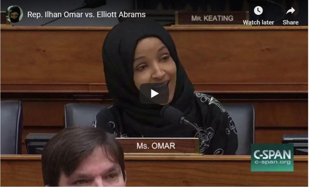 Elliott Abrams Tense Exchange With Ilhan Omar…
