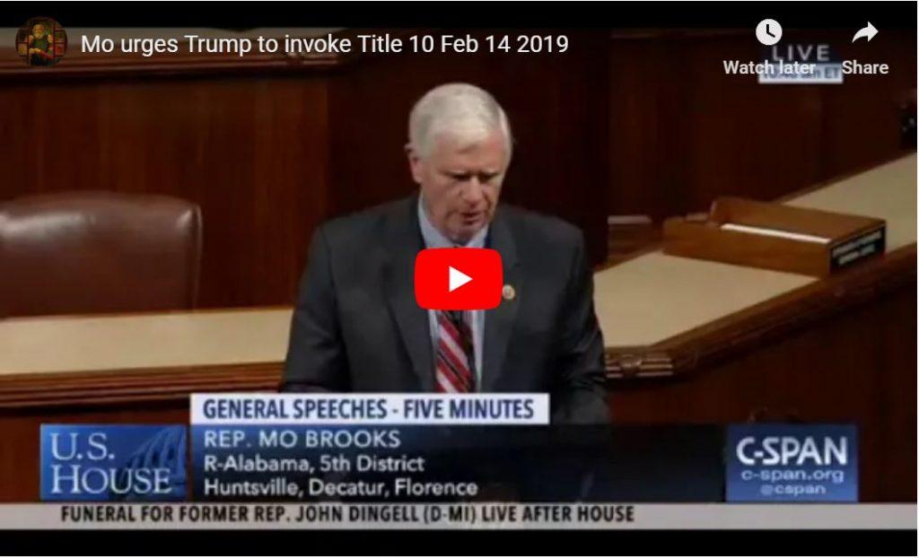 Congressman Tells Trump To Invoke Title 10 Powers