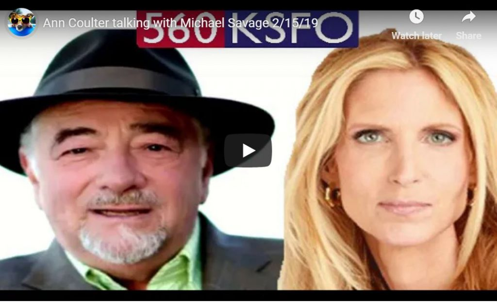 Ann Coulter Bitches And Moans With Michael Savage