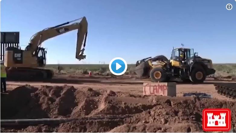 President Trump Tweets: New Mexico Border Wall Construction Completed 47 Days Early!