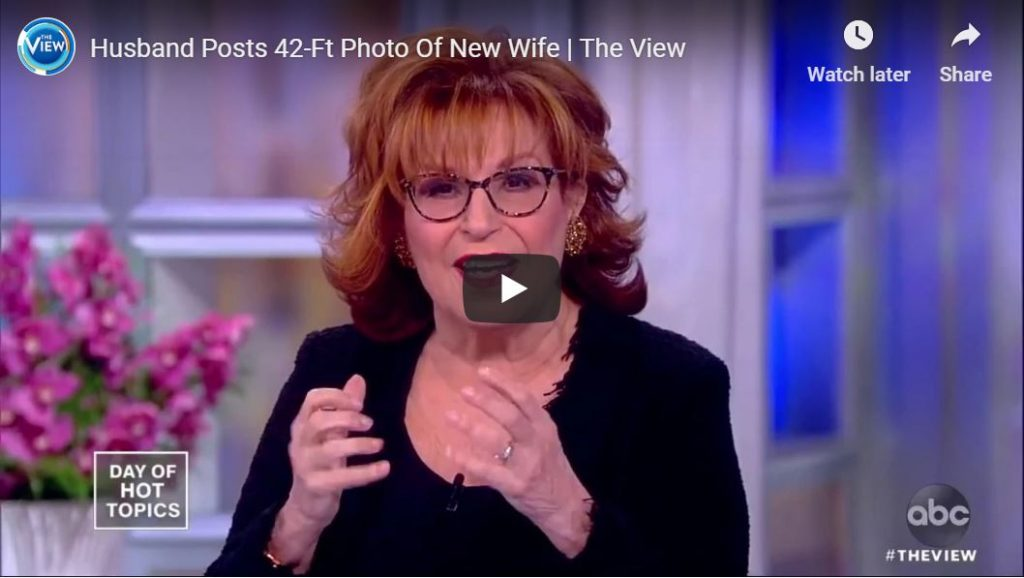 Shut your pie hole, Behar… ICE raids 'reminiscent' of what happened to Jews in Nazi Germany…