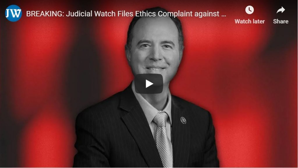 Formal Ethics Complaint Filed Against Adam Schiff