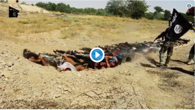 Don't ever forget ISIS war crimes (warning graphic)