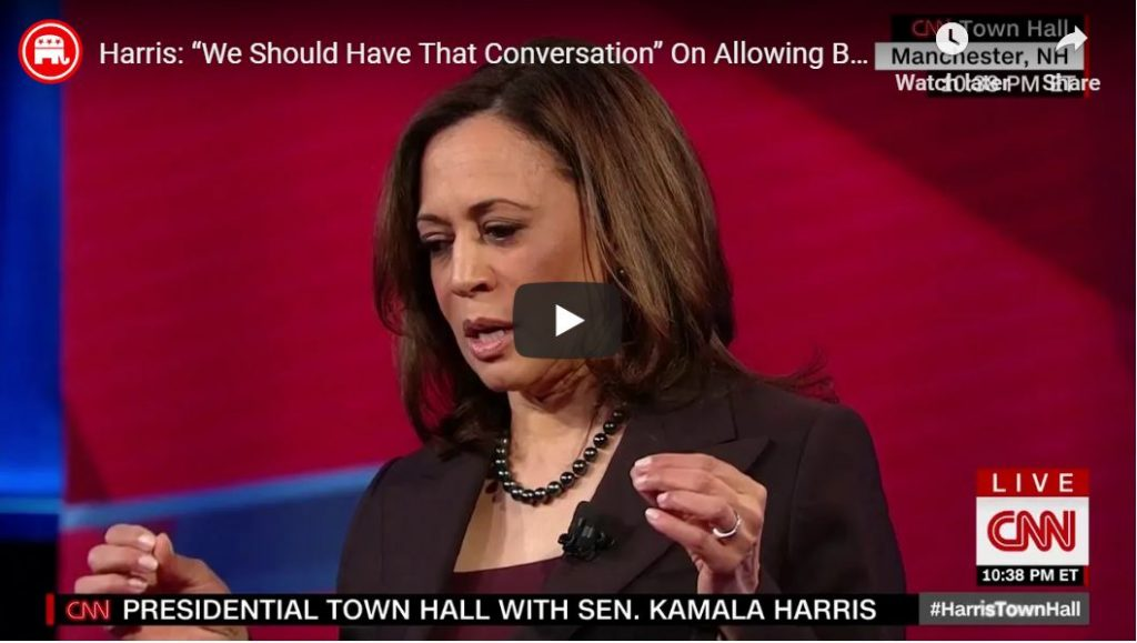 Kamala… I fully intend to win the nomination…