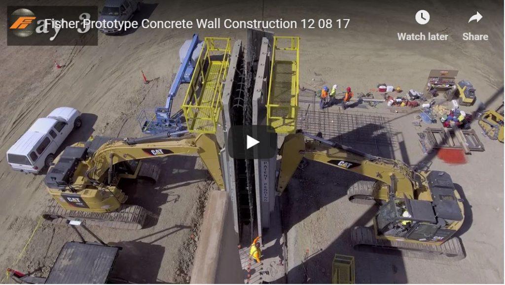 Prototype Border Wall Construction…