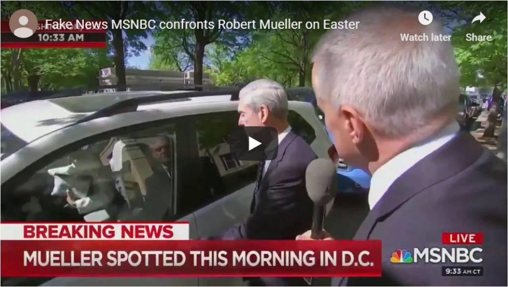 Watch Mueller get ambushed after Easter Service…