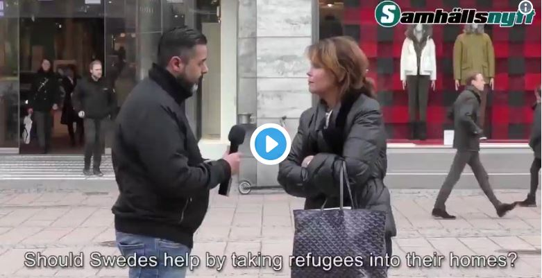 What happens when Swedish liberals are asked to house a migrant in their home (brilliant)…