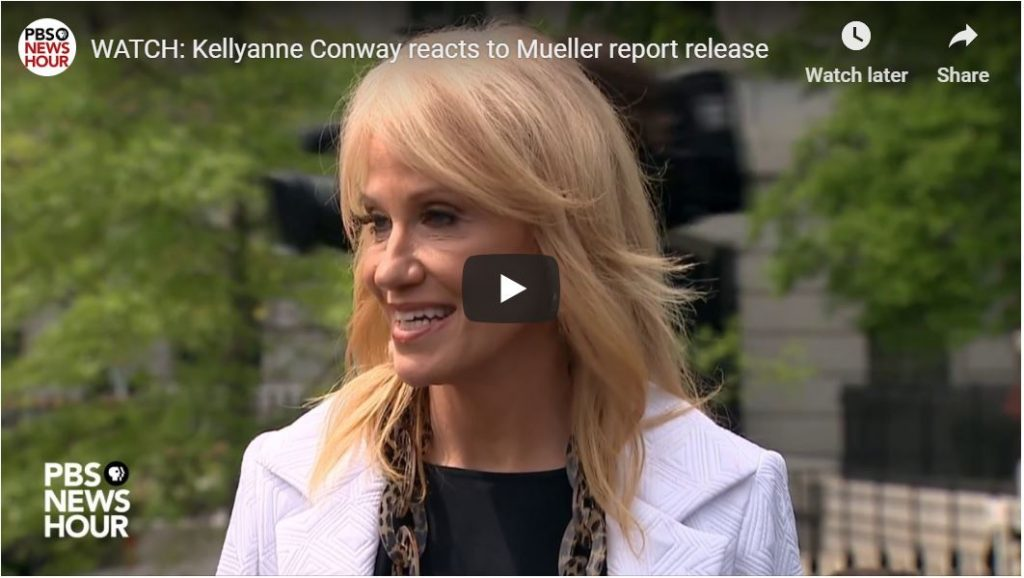 Ouch Kellyanne, that's gonna leave a mark…