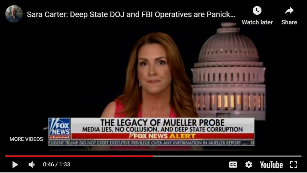 Sara Carter: Indictments are coming, rats are turning
