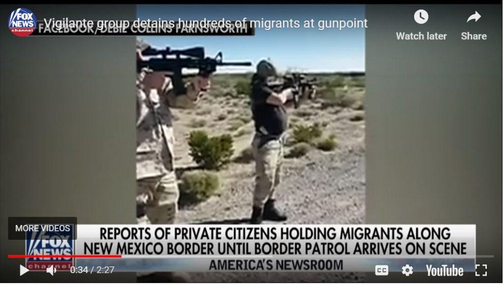 Patriot Militia detains hundreds of migrants…