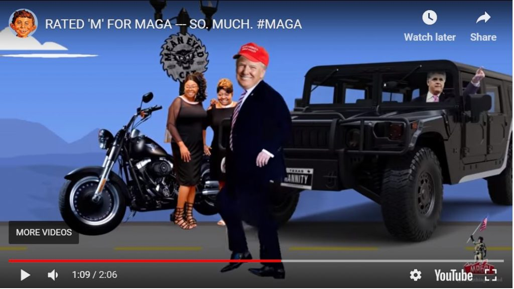 Rated M For MAGA … Epic Meme Creation