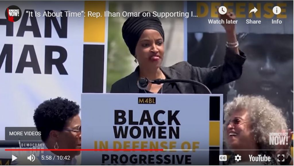 Ilhan Omar completely unhinged…