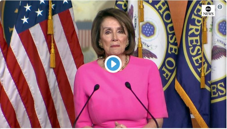 Trump living rent-free in Nancy's confused cortex…
