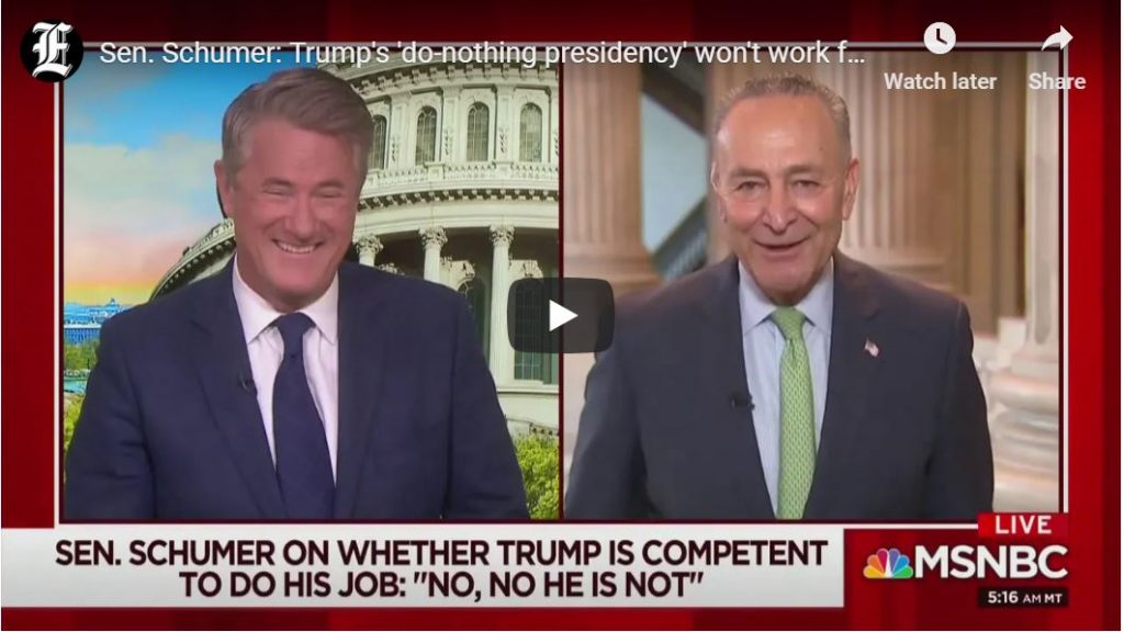 Schumer Gets Desperate, Laughable Commentary…