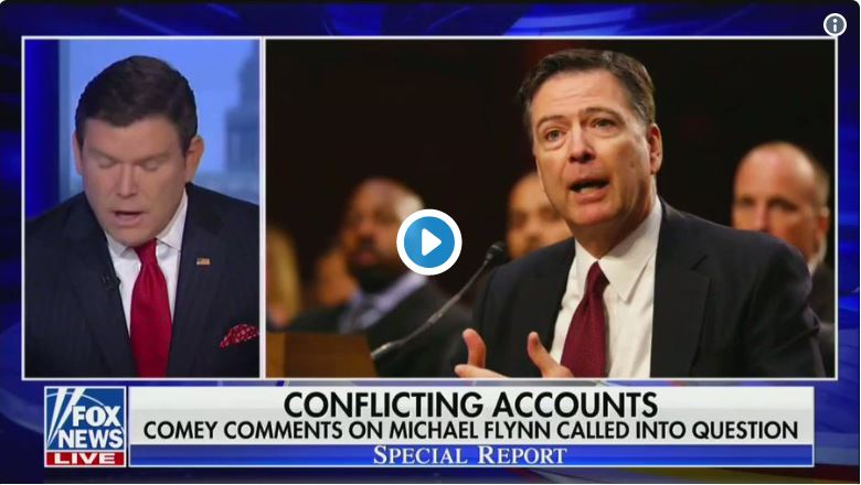 Looky Here: Lying liar Comey busted on Gen Flynn…