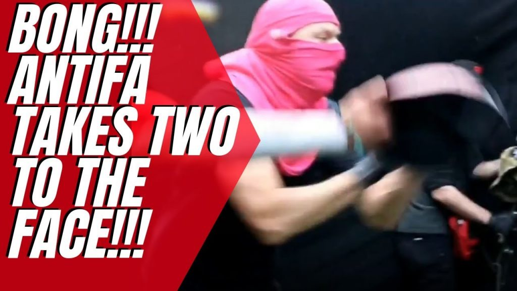 ANTIFA gets their ass kicked (awesome clip)…