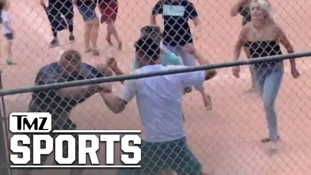 Parents brawl at kids baseball game (crazy video)…