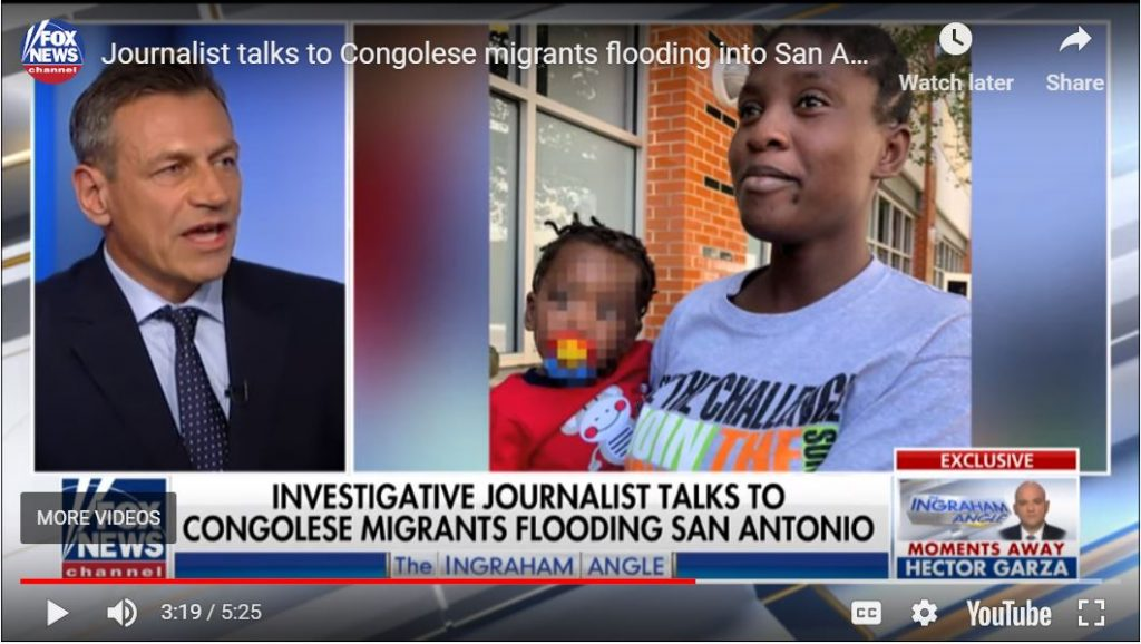 Congo migrants REFUSE to answer questions…