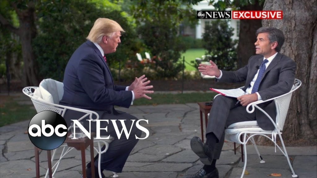 Trump Mocks Stephanopoulos To His Face… 'Little Wise Guy, Which Is Typical For You'…
