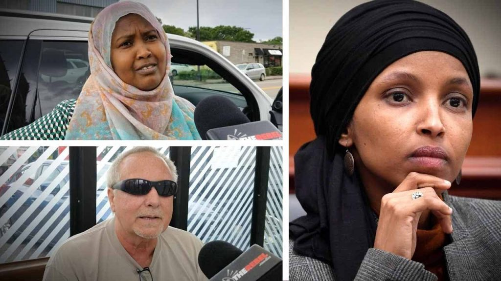 Anti-Semites everywhere in Ilhan Omar's district