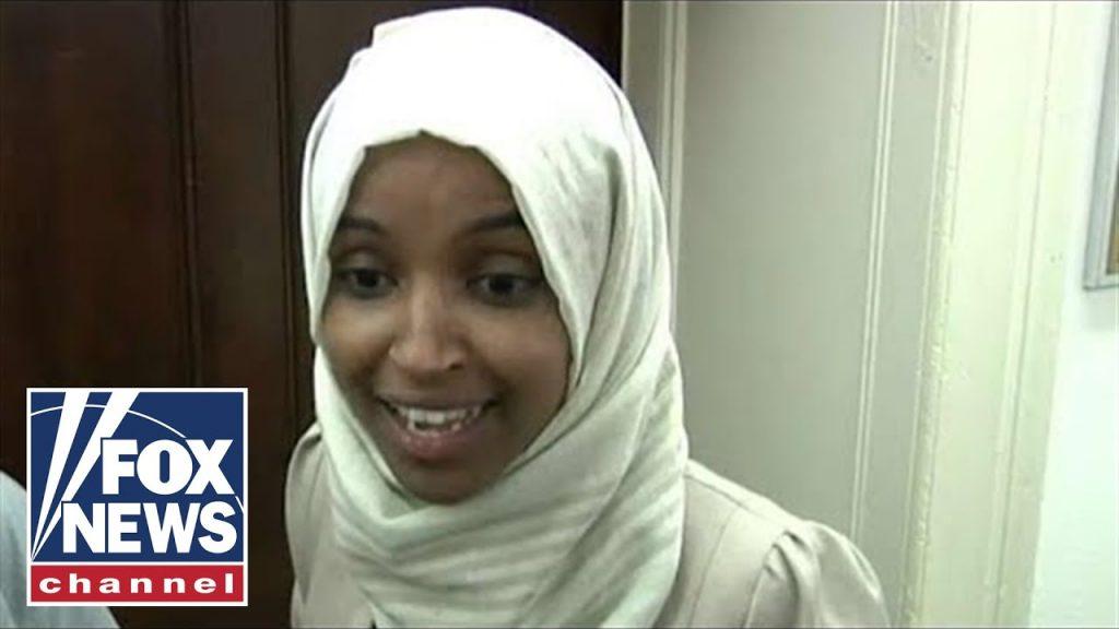 Ilhan Omar Elmi responds in halls of Congress…