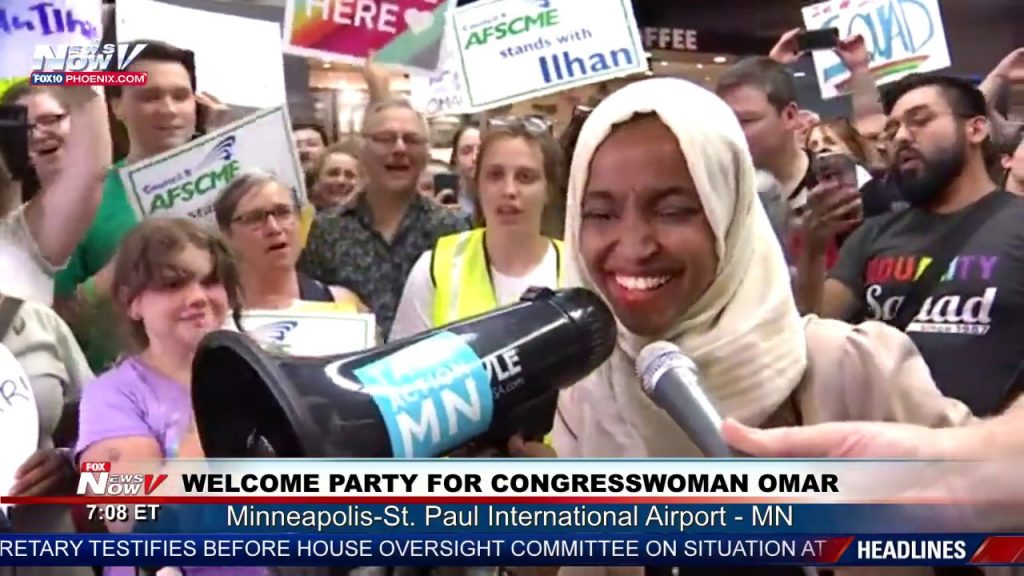 Ilhan Omar vows to be 'nightmare for Trump'…