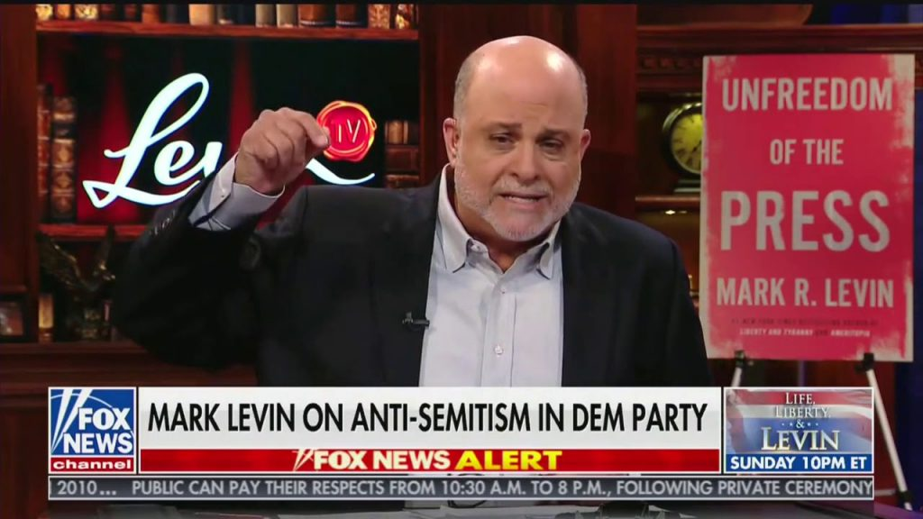 Mark Levin loses his cool with Jihad Squad…