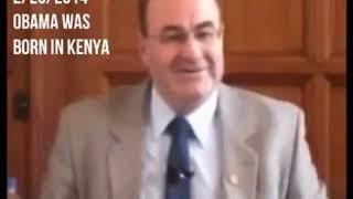 UK Intel adviser says Obama was born in Mombasa